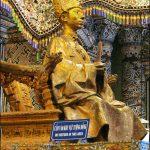 Tượng vua Khải Định của P. Ducuing