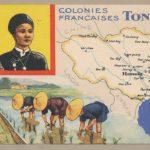 Bản đồ hành chính Đông Dương thuộc Pháp