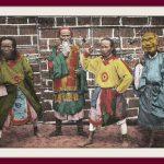 Bưu ảnh tô mầu – Nghề biểu diễn