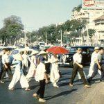 Những bức ảnh màu hiếm về Sài Gòn năm 1956