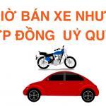 Các rủi ro khi ký hợp đồng uỷ quyền ô tô